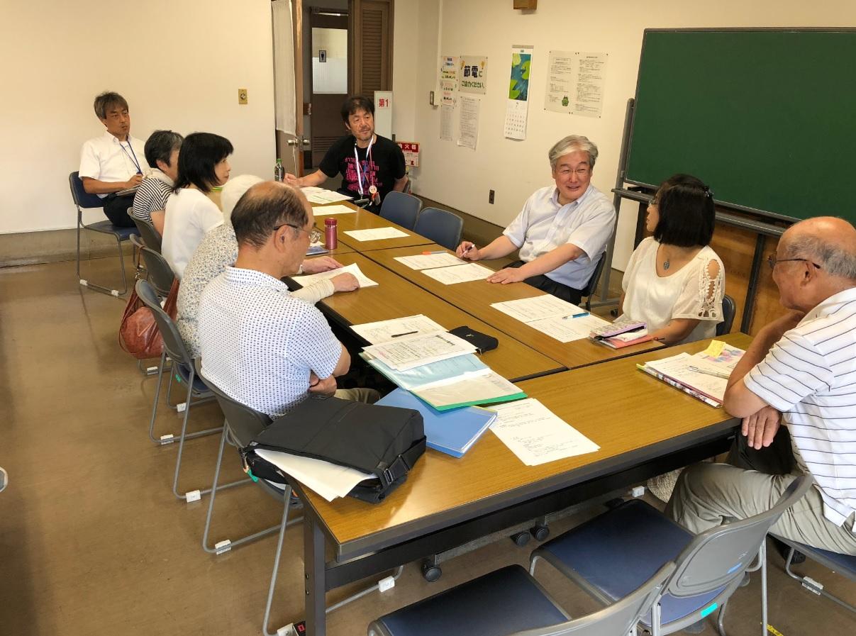 諏訪町では市内13町で実施する介護予防大作戦実行委員会を地域懇談会のメンバーで組織している。